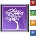 Leaf Tree icon — Stock Vector #64145597