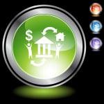 Escrow web icon — Stock Vector #64145649