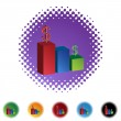 Bar Chart web icon — Stock Vector #64148621