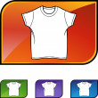White Shirt icon — Stockvector  #64148797