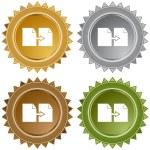 Copy Paper button set — Stock Vector #64149619