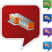 Store web icon — Stock Vector