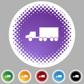 Truck Icon set — Stock Vector