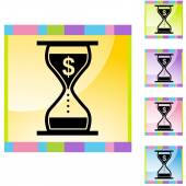 Interest Rate Charges — Stock Vector