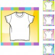 White Shirt icon — Vettoriale Stock  #64150047