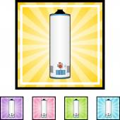 Water Heater web icon — Stockvektor