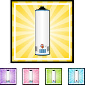 Water Heater web icon — Stock Vector