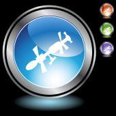Satelliten-Icon-set — Stockvektor