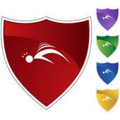 Seizure web icon — Stock Vector
