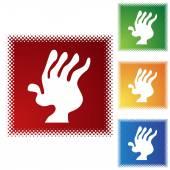 Arthritis web icon — Stockvektor