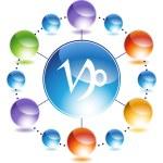 Capricorn Zodiac Symbol — Stock Vector #64161085