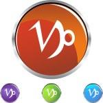 Capricorn Zodiac Symbol — Stock Vector #64162779