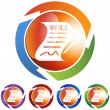 Signed Will web icon — Stock Vector #64168103