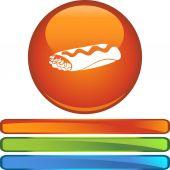Burrito web icon — Stock Vector