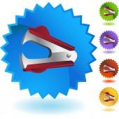 Staple Remover web icon — Stock Vector