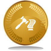 Probate web icon — Wektor stockowy