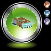 Company web icon — Vettoriale Stock