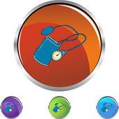 Krevní tlak zařízení — Stock vektor