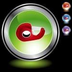 Tape Dispenser web icon — Stock Vector #64182957