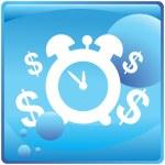 Annuity web icon — Stock Vector #64184523