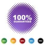 100 percent Guaranteed — Stock Vector #64188475