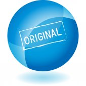 Original sign web icon — Stock Vector