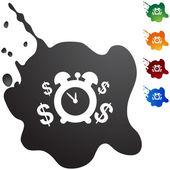 Ícone de web de anuidade — Vetor de Stock