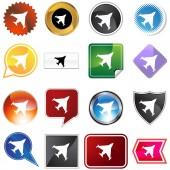 Jet Variety Set — Stock Vector