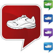 Sports Shoe web icon — Cтоковый вектор