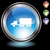 Truck Icon set — Stock Vector