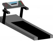 Treadmill Machine — Stock Vector