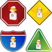 Nurse web icon — Vecteur