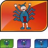 Spider Boy — Stock vektor