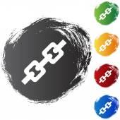 Chain Link web icon — ストックベクタ