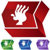 Arthritis web icon — Vettoriale Stock