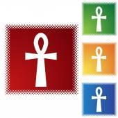 Icono de Cruz egipcia. — Vector de stock