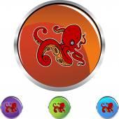 Octopus — Stock Vector
