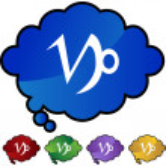 Capricorn Zodiac Symbol — Stock Vector #64209253