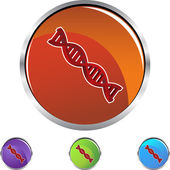 Genetic Code web icon — Stock Vector