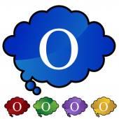 Greek Fraternity Symbol Icon — Stock Vector