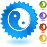 Yin Yang web icon — Stock Vector #64219737