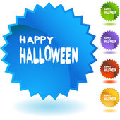 Halloween web icon — Stock vektor