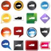 Credit Card Variety Set — Stock Vector