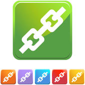 Chain Link web icon — Stock vektor