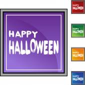 Halloween web icon — Stock Vector
