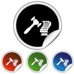 Probate web icon — Stock Vector #64220011