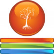 Family Tree button — Stock Vector #64221703