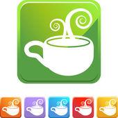 Coffee cup-taste — Stockvektor
