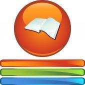 Libro abierto — Vector de stock