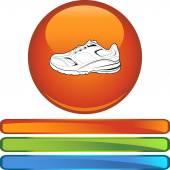 Sports Shoe web icon — 图库矢量图片